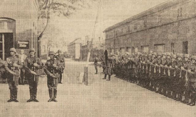 Koszary w Gliwicach. Wielu śląskich żołnierzy Wehrmachtu przechodziło tu przeszkolenie i stąd wyruszało na front. Dla wielu była to droga bez powrotu