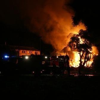W dwóch niedzielnych pożarach zginęły dwie osoby.