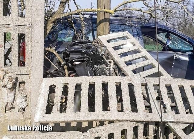 28 marca 2020 r. Miejsce wypadku.