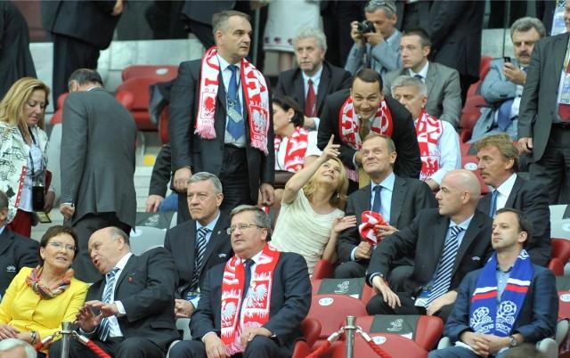 Mecz Polska-Rosja podczas Euro 2012