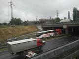 Tunel pod Rondem w Katowicach i DK 86 zakorkowane [ZDJĘCIA]