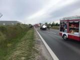 Wypadek w Mrowinie. Zderzyły się tutaj trzy samochody