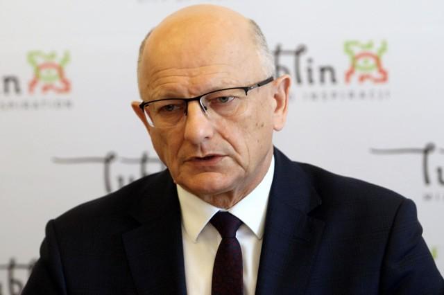 Krzysztof Żuk, prezydent Lublina.