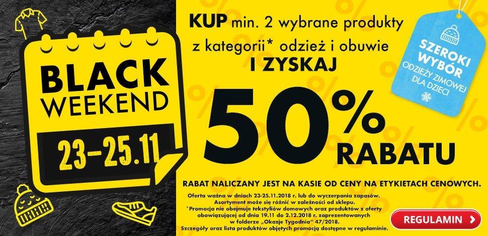 f2e61e4452 Black Friday 2018 w Biedronce to promocje 50 proc. na odzież i obuwie przy  zakupie