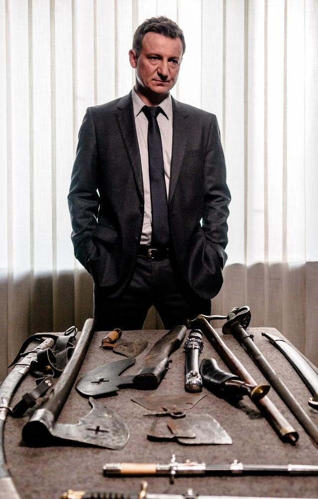 Prokurator Szacki (Robert Więckiewicz): Trochę jak Rustin Cohle, trochę jak Mikael Blomkvist