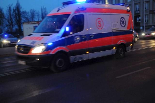 Wypadek w Lesznie. Nie żyje rowerzysta