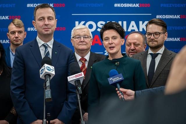 Władysław Kosiniak - Kamysz, lider Polskiego Stronnictwa Ludowego, odwiedził Limanową w styczniu,  by wziąć udział w otwarciu biura poselskiego Urszuli Nowogórskiej