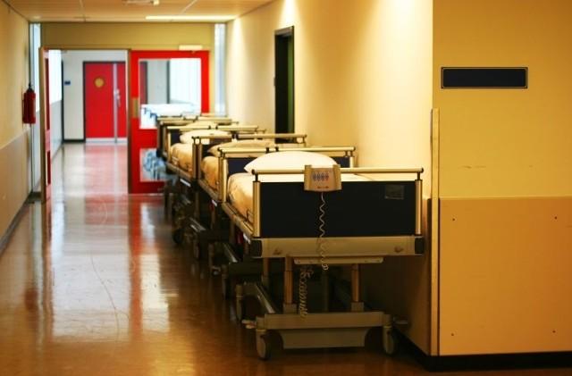Trwa wyposażanie nowego skrzydła szpitala klinicznego. Jednak dopiero jesienią zaczną się tu przeprowadzać poszczególne kliniki