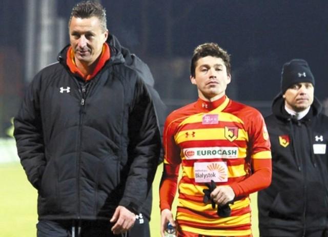 Alexis Norambuena (nr 17) powinien być do dyspozycji trenera Tomasza Hajto na piątkowy mecz z Zagłębiem Lubin