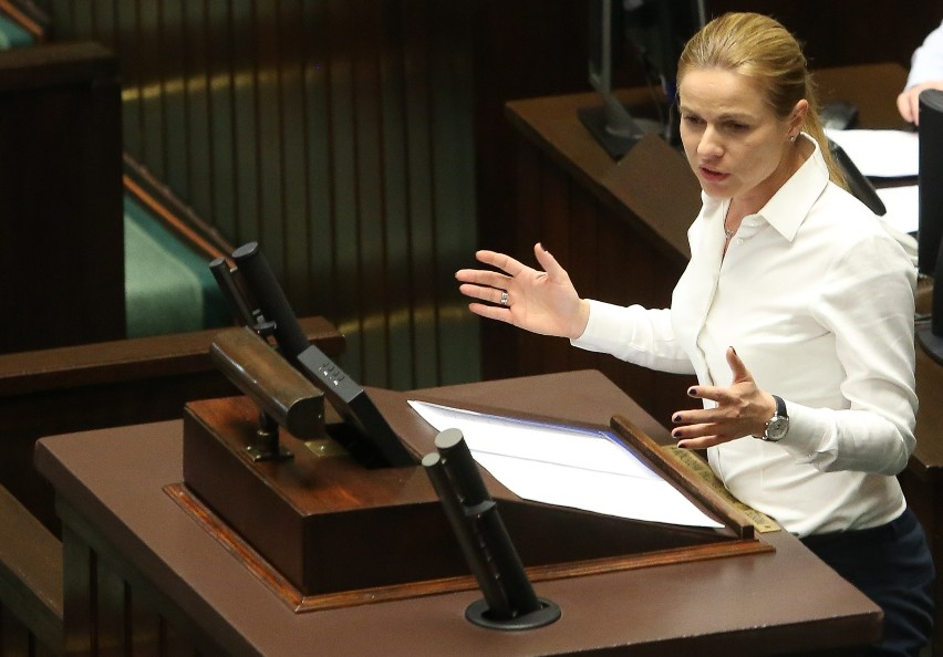 – Nie rozumiem jak przeciwko Poznaniowi mogli głosować posłowie Dziuba, Wróblewski i Szynkowski vel Sęk - mówi Joanna Schmidt