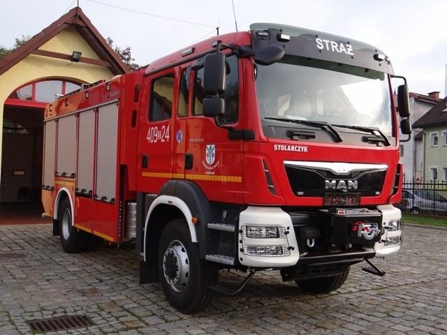 Ochotnicza Straż Pożarna będzie mogła lepiej i szybciej reagować w sytuacjach kryzysowych. Zapewnić ma to nowy wóz strażacki, który trafił do remizy.