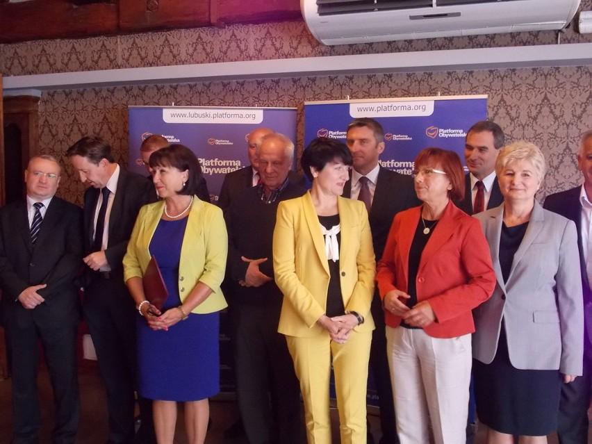 Najważniejsze osoby lubuskiej PO za drzwiami zamkniętymi będą rozmawiały o zbliżających się wyborach w regionie