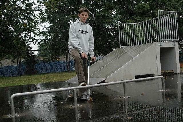 Olesno: 100 tysiecy zlotych kosztowal nowy skatepark w mieście.