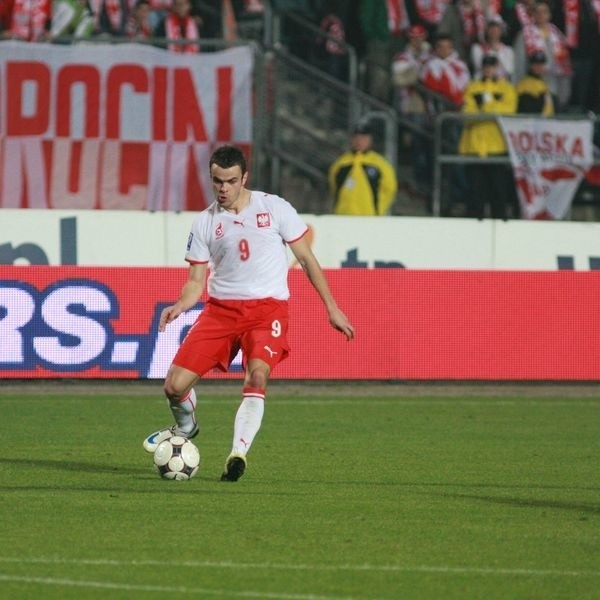 Paweł Brożek był bliski zdobycia gola, ale w środę skuteczniejsi byli jego koledzy