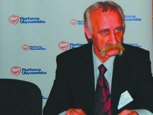 przewodniczący zarządu Platformy Obywatelskiej w powiecie hajnowskim