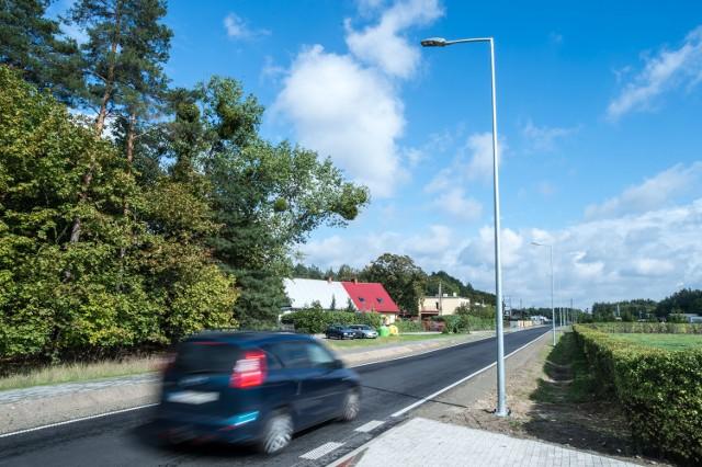 Wyremontowana została droga powiatowa nr 1621C na odcinku Pieńki Królewskie - Mały Rudnik.