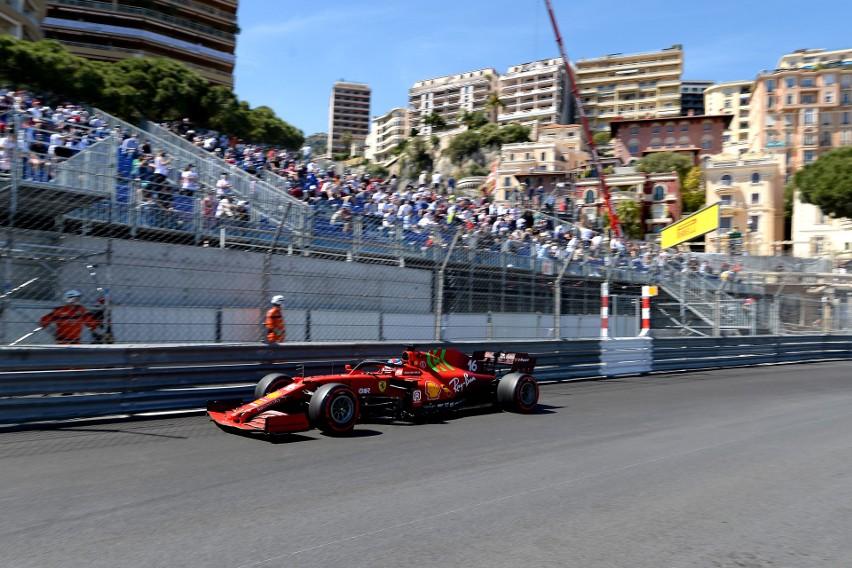 Charles Leclerc wygrał kwalifikacje do Grand Prix Monako,...
