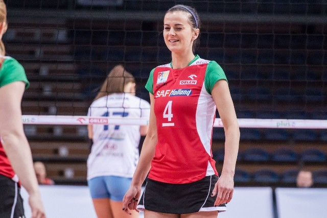 Anita Kwiatkowska, podobnie jak w meczu wyjazdowym z Pałacem, była najskuteczniejszą zawodniczką Enei PTPS