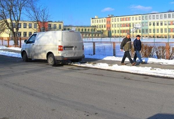 Na ul. Baczyńskiego w Sępólnie do końca listopada wiele się zmieni dzięki przebudowie w ramach schetynówki