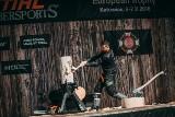 Sportowe cięcie i rąbanie drewna. Zawody wygrał wielokrotny Mistrz Polski – Arkadiusz Drozdek z Zielonej Góry.