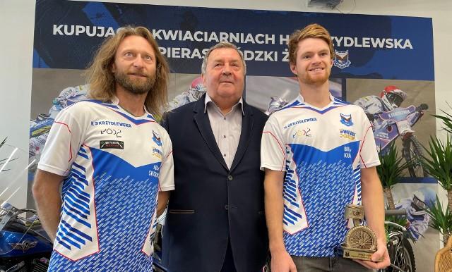 Trener Adam Skórnicki, Witold Skrzydlewski i Brady Kurtz