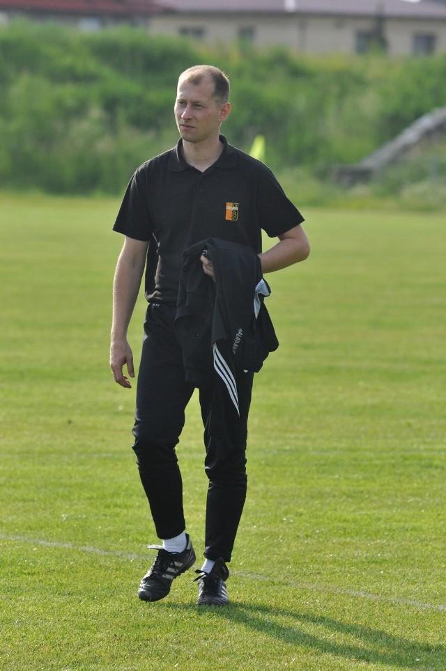 Trener Małejpanwi Łukasz Wicher ma sporo zmartwień jeśli chodzi o sytuację kadrową swojego zespołu.