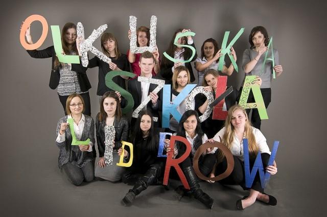 Uczestnicy Olkuskiej Szkoły Liderów