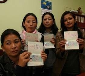 Cztery Nepalki maiły szczęście, znalazły pracę w zakładach drobiarskich. (fot. Krzysztof Świderski)