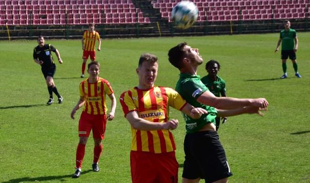 Korona II Kielce po dobrym meczu pokonała zespół Stali Stalowa Wola 1:0.