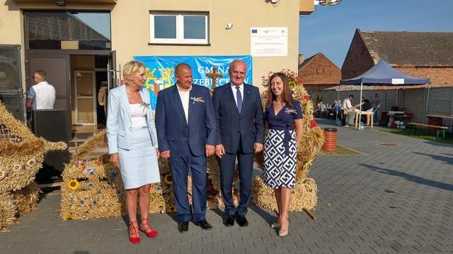 Sierpień 2019, dożynki gminy Trzebiechów, które odbywały się w Swarzynicach.