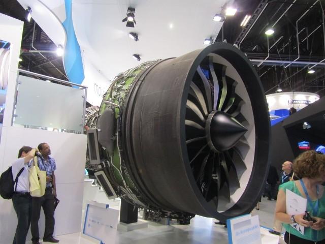 Ogromny silnik dreamlinera budził respekt potęgą