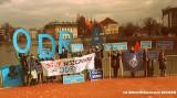 Krzyczą: Stop dla niszczenia Odry! Protest w centrum Wrocławia