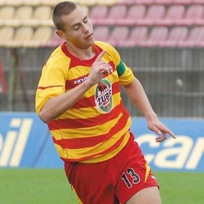 Michał Fidziukiewicz regularnie strzela bramki w Młodej Ekstraklasie, wczoraj zdobył dwa gole w Pucharze Ekstraklasy