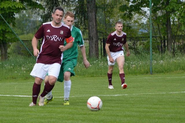 Przeciszovia przegrała ze Strumieniem Polanka Wielka 0:2 (oświęcimska klasa A). NA zdjęciu Daniel Boba, strzelec pierwszego gola dla Polanki.