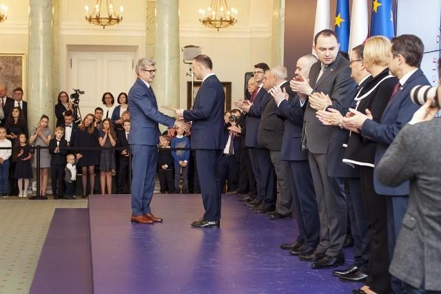 Prezydent Andrzej Duda mianował nowych profesorów z Łodzi