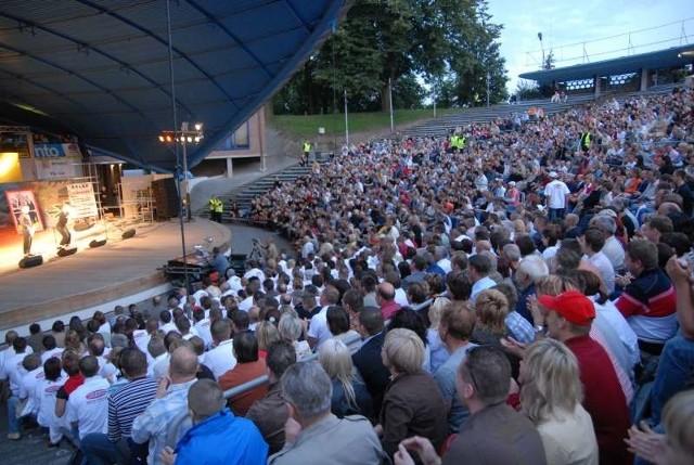W amfiteatrze po przebudowie ma być 4 tysiące miejsc.