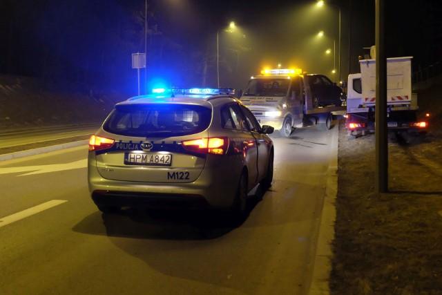 W sobotę, tuż po godz. 19, na ulicy Wysockiego w Białymstoku w pobliżu Laboratorium Badania Wody doszło do wypadku.