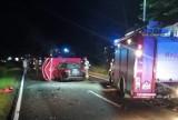 Śmiertelny wypadek na DK 15 w miejscowości Wielki Głęboczek. Kierowca osobówki zginął po zderzeniu z ciągnikiem