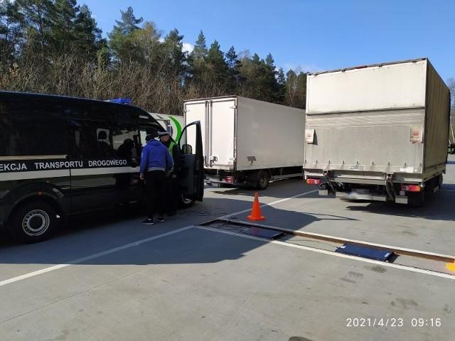 Niektóre auta dostawcze ważyły ponad 7 ton