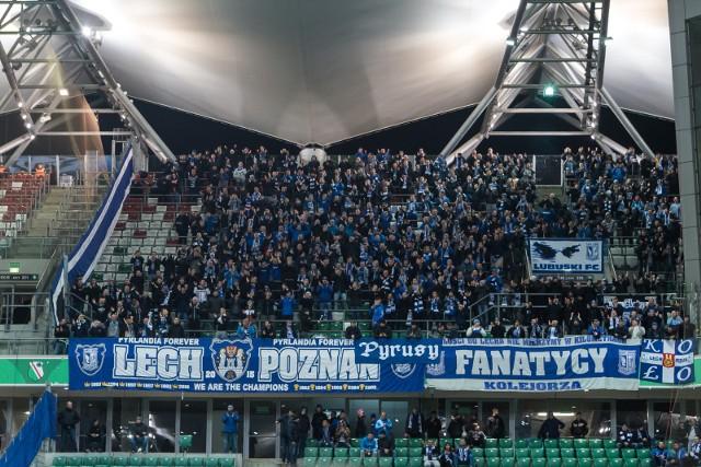 Kibice Lecha Poznań zobaczą mecz z Pogonią