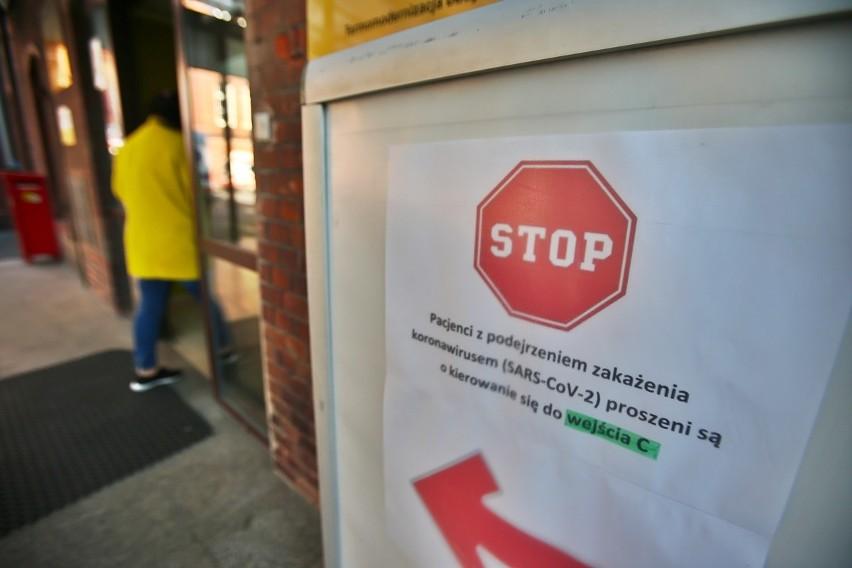 Koronawirus? Badają lekarzy i pacjentów z Grabiszyńskiej