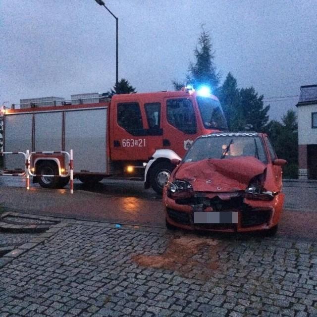 Fiat seicento zderzył się z bmw