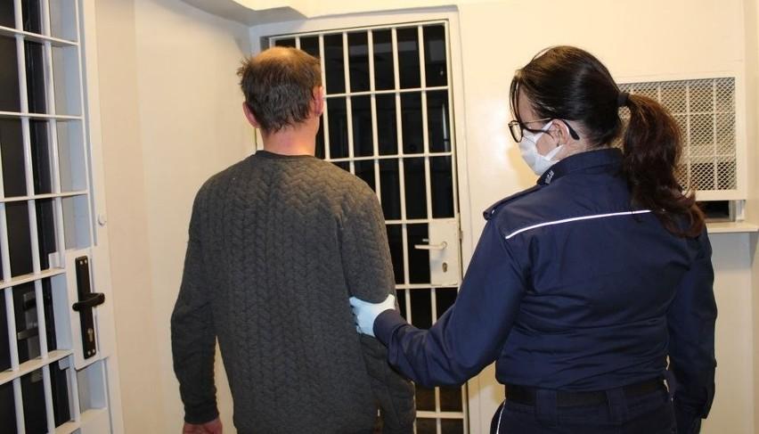 Dzięki szybkiej reakcji policjantów sprawca kradzieży został...