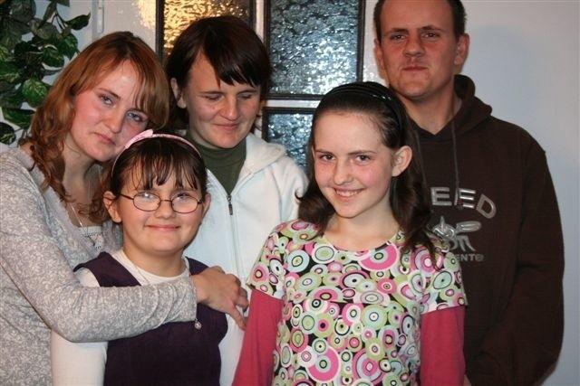 Od lewej: Ania, Gabrysia, Magda, Ewelina i Jarek