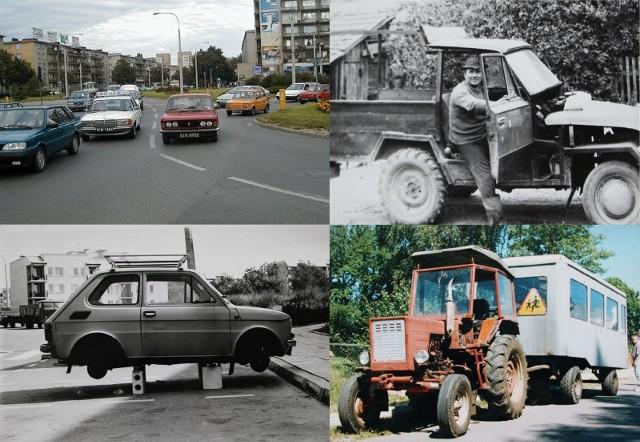 Niezwykłe pojazdy i wehikuły na podlaskich drogach. Takimi samochodami jeździli mieszkańcy woj. podlaskiego 20-30 lat temu