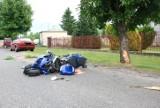 Radzyń Podlaski: Motocyklista uderzył w drzewo