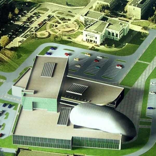 Budynek ma być gotowy do 2010 r. Jego koszt to ok. 70 mln zł. Większość to pieniądze z UE.