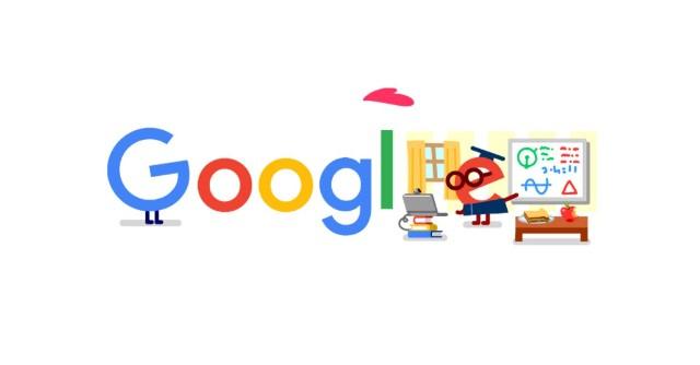 Google Doodle dziękuje nauczycielom i pracownikom oświaty za trud zdalnego nauczania w dobie pandemii koronawirusa