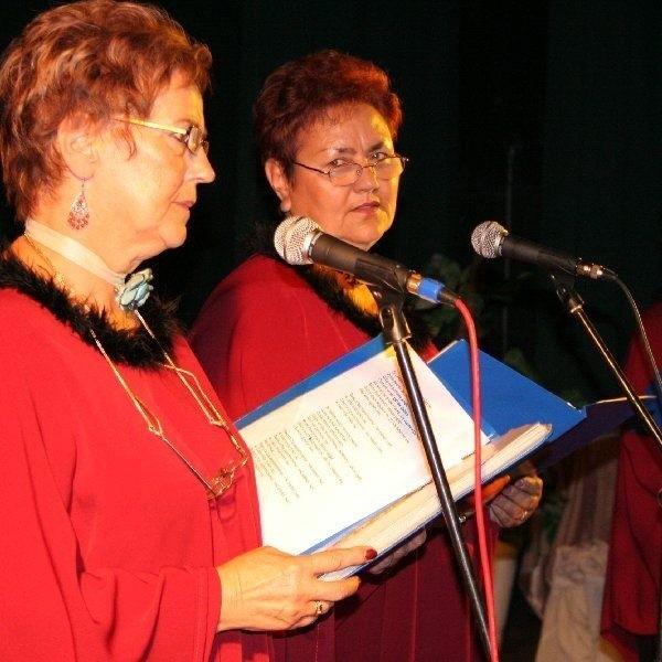 Klub Seniorów z kierownik Marią Jaworską (na  zdjęciu - pierwsza od lewej) działa prężnie.  Mógłby połączyć siły z Uniwersytetem Trzeciego  Wieku.