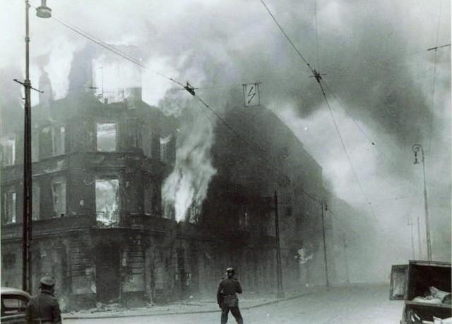 Ruiny warszawskiego getta
